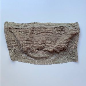 Free people lace bandeau bra